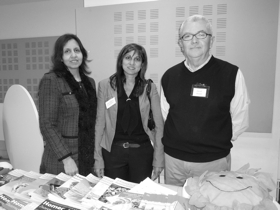 Dr Harsha Sidhu Director, Seema Malhotra Council Officer & David Mundy