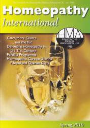 Homeopathy International Spring 2010
