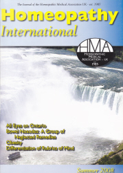 Homeopathy International Summer 2008